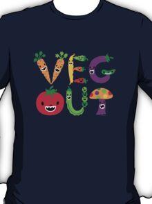 Veg Out - dark colors T-Shirt