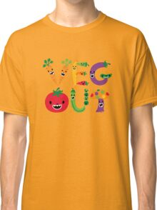Veg Out - dark colors Classic T-Shirt