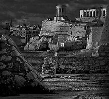 Mono Bell-Tower Valletta Malta by Edwin  Catania