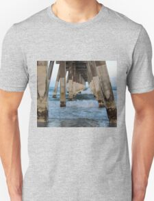 Waves Under The Pier Unisex T-Shirt