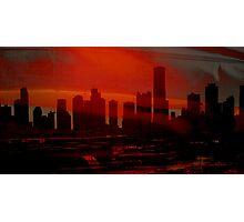 Sleepy City of Miami Photographic Print