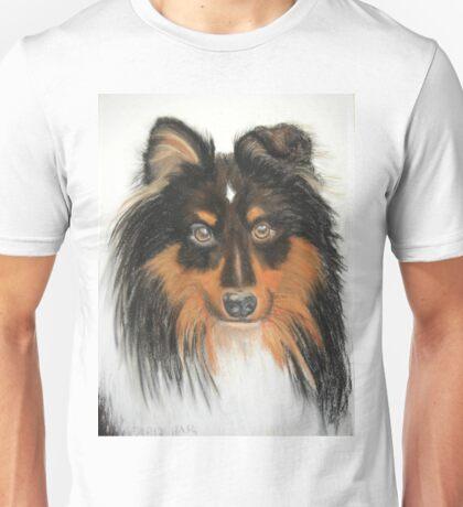 Hamish, Shetland Sheepdog Tricoloured Unisex T-Shirt