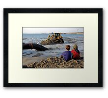 The young inspectors Framed Print