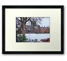 Chester Cathedral, UK Framed Print
