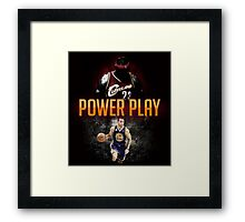 lebron and curry Framed Print