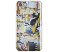 Chaos in the Kitchen iPhone Case/Skin