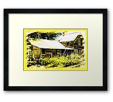Old Home Place Framed Print