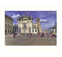 St. Peter Cathedral - Mantova Art Print