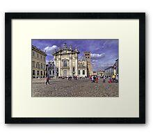 St. Peter Cathedral - Mantova Framed Print