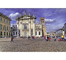 St. Peter Cathedral - Mantova Photographic Print