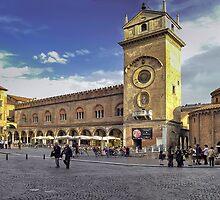 Piazza delle Erbe - Mantova by paolo1955