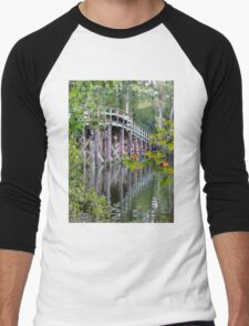 Greenfield Lake Bridge Men's Baseball ¾ T-Shirt