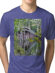 Greenfield Lake Bridge Tri-blend T-Shirt
