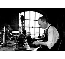 Leather Worker Photographic Print