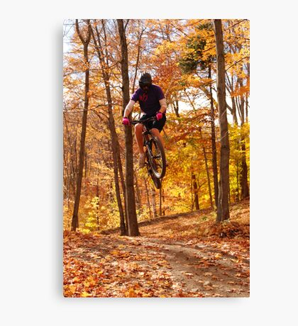My Son The Stuntman 3 Canvas Print