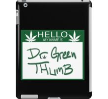 Dr. Green Thumb iPad Case/Skin