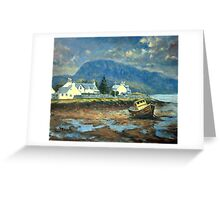 Plockton, Scotland at LowTide Greeting Card
