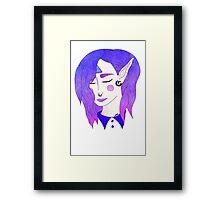 Galaxy Elf Framed Print