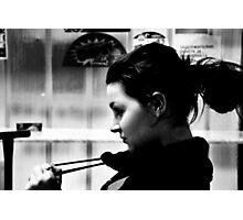 Profile Photographic Print