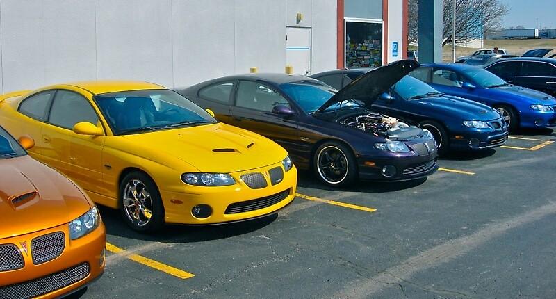 Modern muscle cars by Ryan Diem