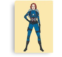 Captain Widow Canvas Print