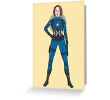 Captain Widow Greeting Card