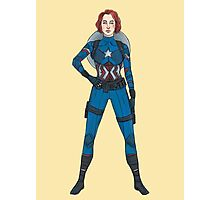 Captain Widow Photographic Print