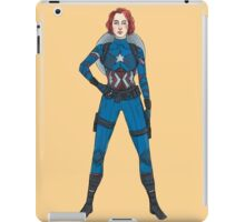 Captain Widow iPad Case/Skin