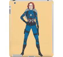 Captain Widow iPad Case/Skin