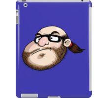 The Neckbeard (No Text) iPad Case/Skin