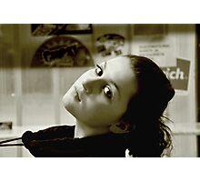 Sephia girl Photographic Print