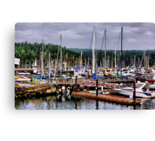 Parking in Paradise Canvas Print