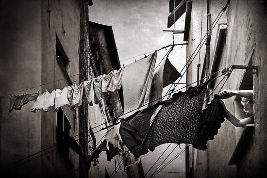 The washing by Barbara  Corvino