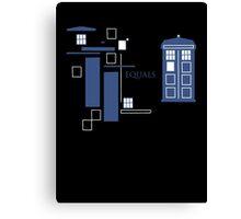 TARDIS  Canvas Print