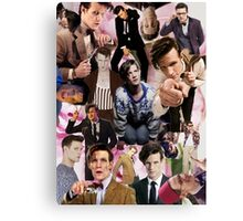 Ode to Matt Smith 2 Canvas Print