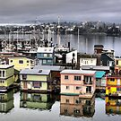 Fisherman's Wharf, Victoria by Rick Lawler