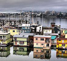 Fisherman's Wharf, Victoria by Rick Lawler