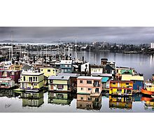 Fisherman's Wharf, Victoria Photographic Print