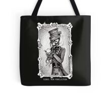 Dead kitty (black and white) Tote Bag