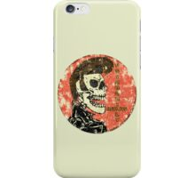 Psychobilly Rules iPhone Case/Skin
