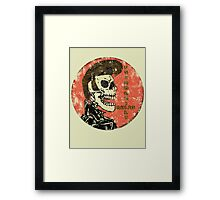 Psychobilly Rules Framed Print