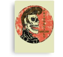 Psychobilly Rules Canvas Print