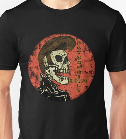 Psychobilly Rules Unisex T-Shirt