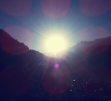 Sunrise at Lachung valley by tashdique