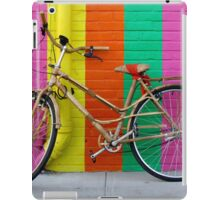 Bicycle Against Colorful Wall iPad Case/Skin