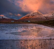 The Red Hills in Winter Light. Isle of Skye, Scotland. by PhotosEcosse