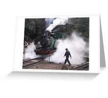 West Coast Wilderness railway  Greeting Card
