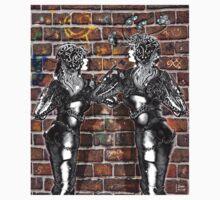 Graffiti Hearts [Digital Figure Illustration] One Piece - Short Sleeve