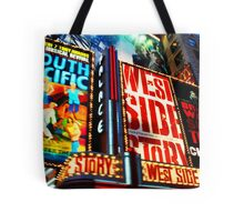 Broadway, New York marque Tote Bag