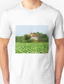Silo In The Middle Of A Field Unisex T-Shirt